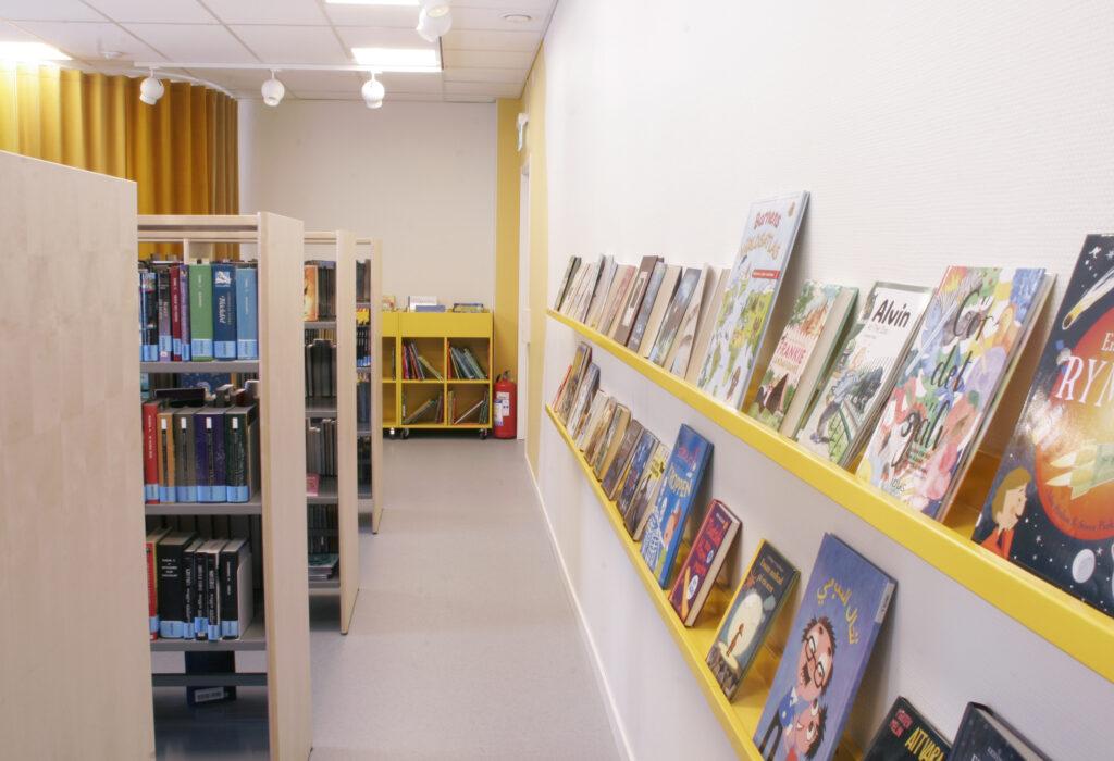 Inredning Lits bibliotek